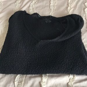 Last seasons urban outfitters black v neck sweater